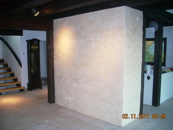 Referenz der Firma E. Miller in Krailling, Würmtal aus dem Jahr 2011 in Bachern – Innenmauer