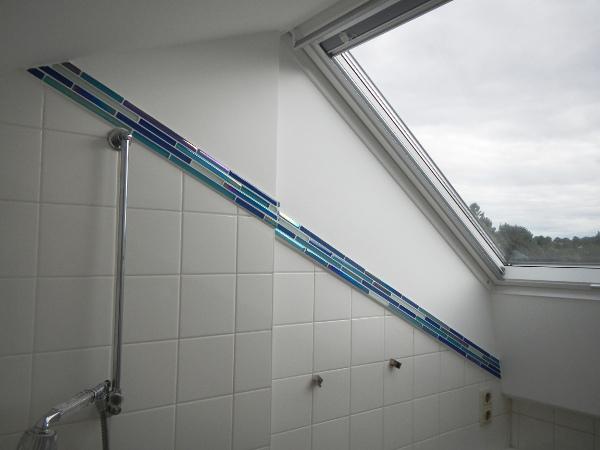 Referenz der Firma E. Miller in Krailling, Würmtal aus dem Jahr 2013 in Gauting – Bad mit Dachfenster