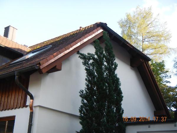 Referenz der Firma E. Miller in Krailling, Würmtal aus dem Jahr 2014 in Gauting – Dach