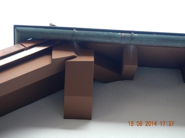 Referenz der Firma E. Miller in Krailling, Würmtal aus dem Jahr 2014 in Gauting – Details Dach