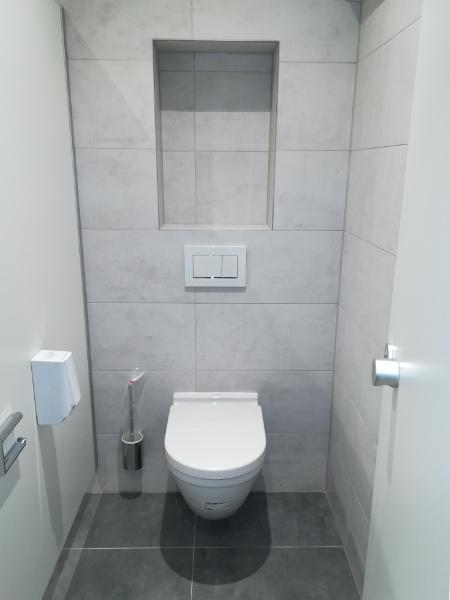 Referenz der Firma E. Miller in Krailling, Würmtal aus dem Jahr 2017 / 2018 im Raum München – WC