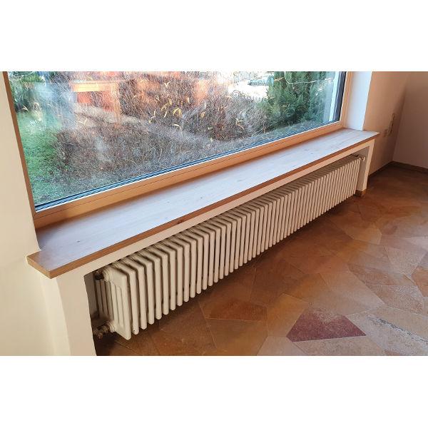 Referenz der Firma E. Miller in Krailling, Würmtal aus dem Jahr 2020 – Komplettsanierung Einfamilienhaus in Gilching – Fensterbank