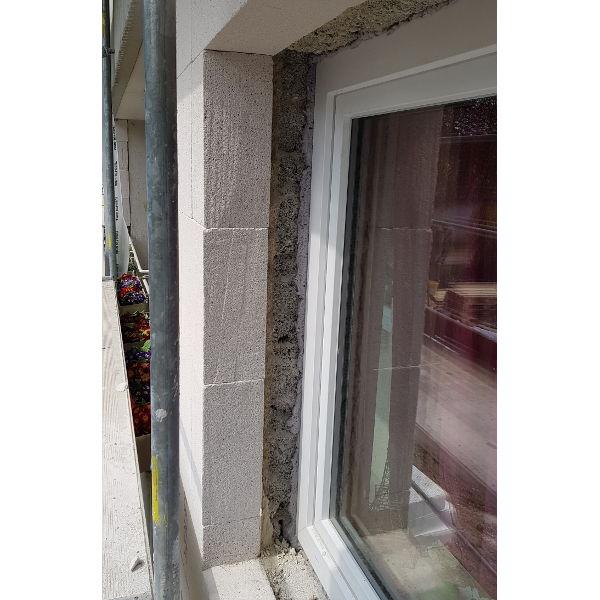 Referenz der Firma E. Miller in Krailling, Würmtal aus dem Jahr 2019 – Fassaden in Gräfelfing – Fenster Details