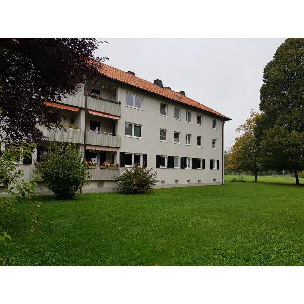 Referenz der Firma E. Miller in Krailling, Würmtal aus dem Jahr 2019 – Fassaden in Gräfelfing – Rückseite