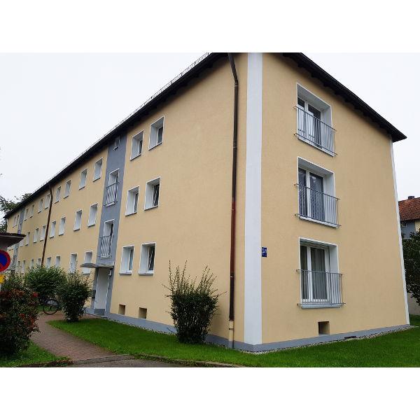 Referenz der Firma E. Miller in Krailling, Würmtal aus dem Jahr 2019 – Fassaden in Gräfelfing – Vorderseite